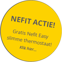 Gratis Nefit Easy slimme thermostaat